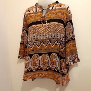 2 for $25-Boho Shirt from Nepal, Size Medium-Large
